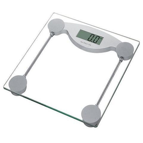 Imagem de Balança  Banheiro Digital Peso Corporal Vidro Temperado 180kg