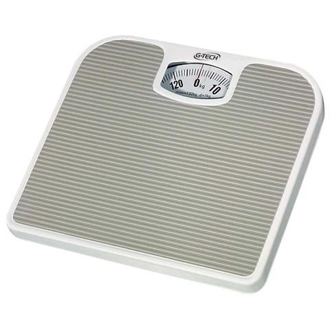 Imagem de Balança Corporal Banheiro Academia Consultório Analógica Anti Derrapante Até 130kg