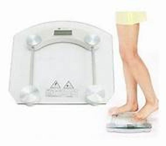 Imagem de Balança corporal digital banheiro vidro temperado até 180kg