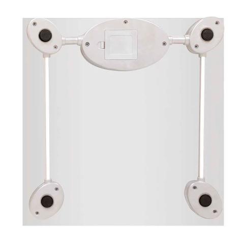 Imagem de Balança Corporal Digital Multilaser Digi-Health Prata Banheiro Academia HC021