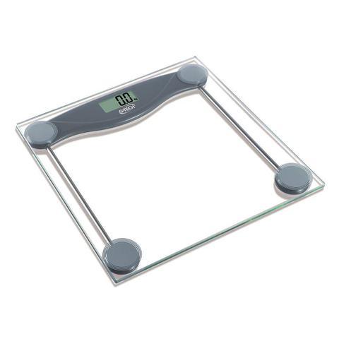 Imagem de Balança de Banheiro Academia Digital Eletronica LCD  Vidro Temperado 150kg