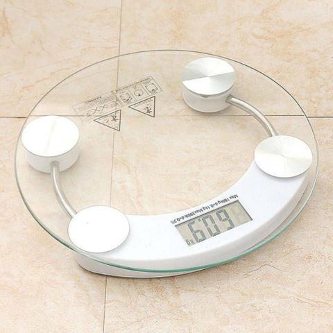 Imagem de Balança De Banheiro Digital Vidro Temperado Até 180 Kg