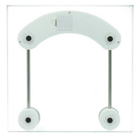 Imagem de Balança de Banheiro Eletronica LCD academia vidro temperado corporal 180KG