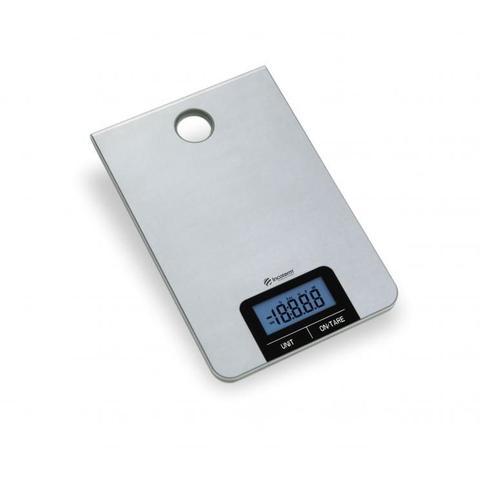 Imagem de Balanca de cozinha portatil base em aço inox incoterm 5 kg - bc90