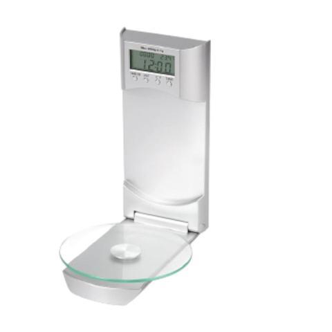 Imagem de Balança De Parede 3Kg Com Relógio termômetro Cronômetro Welf