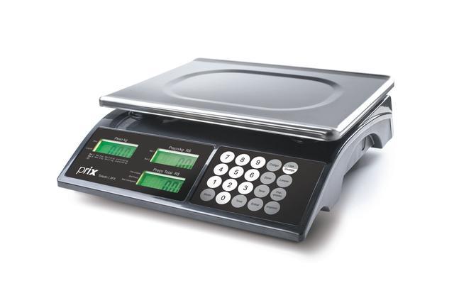 Imagem de Balança Digital 15kgs Toledo Prix 3 Fit C/Bateria  Certificada Inmetro