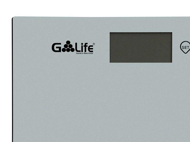 Imagem de Balança Digital até 150kg Vidro Temperado G-life