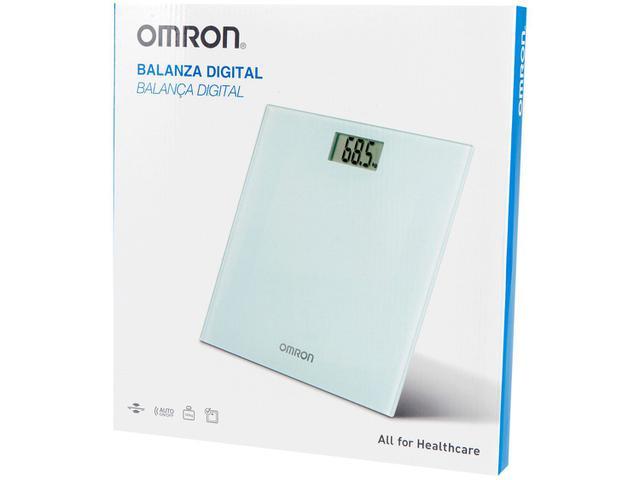 Imagem de Balança Digital Até 150Kg Vidro Temperado Omron