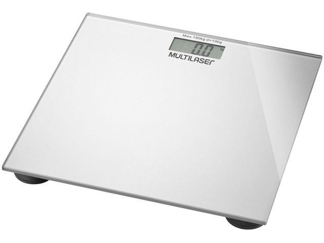 Imagem de Balança Digital até 180kg Vidro Temperado - Multilaser Digi-Health