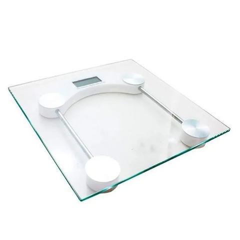 Imagem de Balança Digital Banheiro Academia Corporal Quadrada 180kg