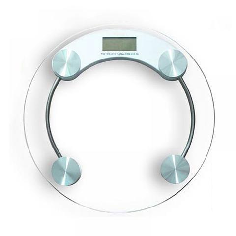 Imagem de Balança Digital Banheiro Vidro Temperado Academia 180kg