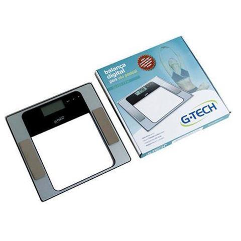 Imagem de Balança Digital Bioimpedância Corporal G-tech Glass 7