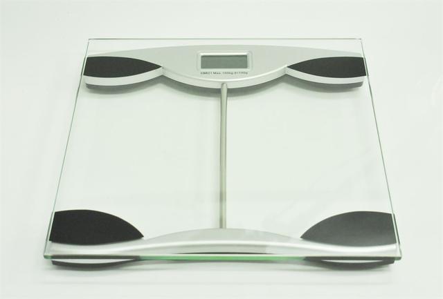 Imagem de Balança digital com capacidade de 150 kg divisão 100 gramas eb821-sl - niazi