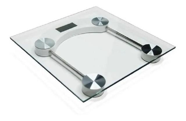 Imagem de Balança Digital Corporal Vidro Temperado quadrada até 180kg