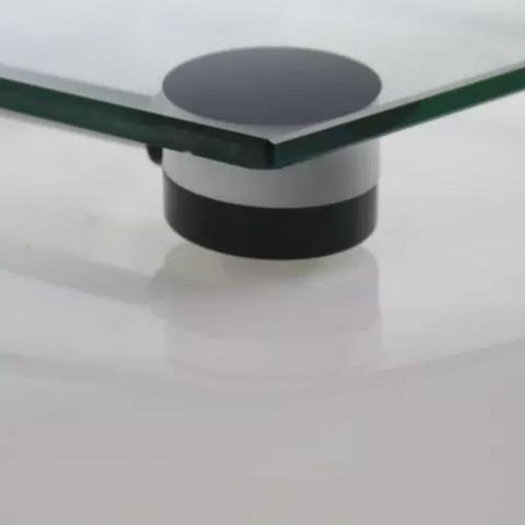 Imagem de Balança Digital de Banheiro Corporal Eletrônica em Vidro Temperado com Visor LCD Uso Doméstico Saúde