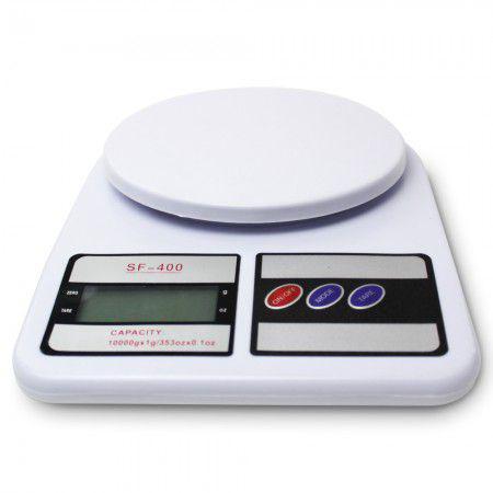 Imagem de Balanca digital de cozinha sf400 - ate 10kg - branca