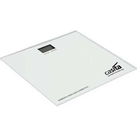 Imagem de Balança Digital de peso corporal de Vidro para banheiro Casita Preta Balanca