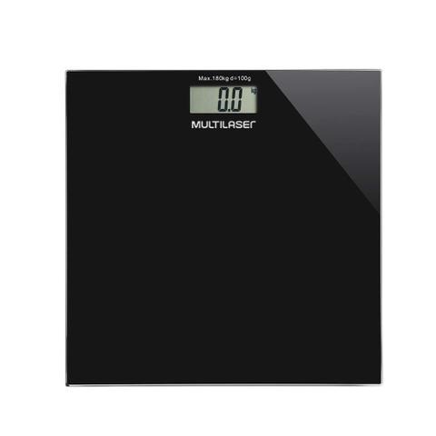 Imagem de Balança Digital Digi-Health Multilaser Preta - HC022