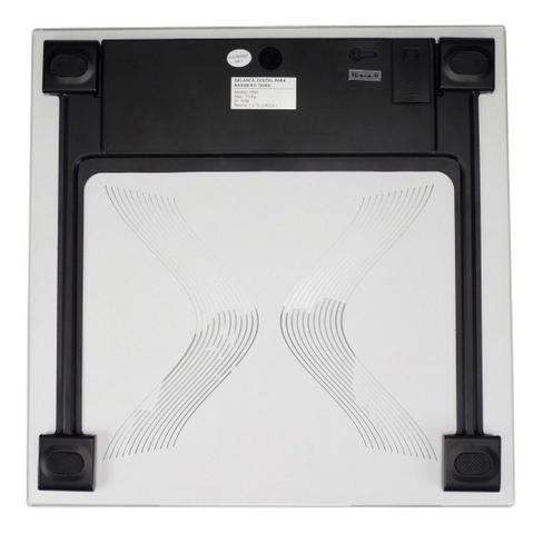 Imagem de Balança Digital Doméstica Banheiro 150kg Brasfort 7553