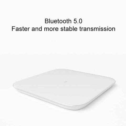 Imagem de Balança Digital M1 Smart Scale 2 Bluetooth Pesa Até 150kg