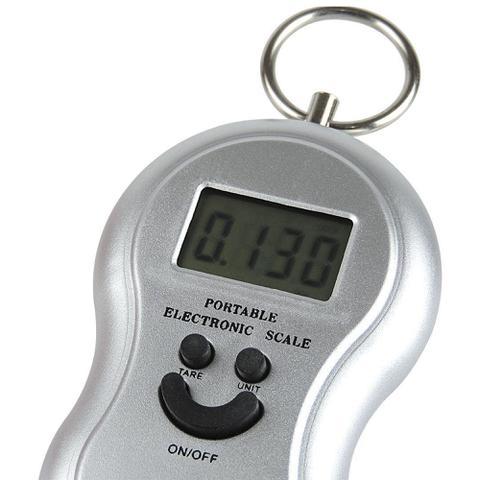 Imagem de Balança Digital Portátil Para Até 50kg Com Gancho