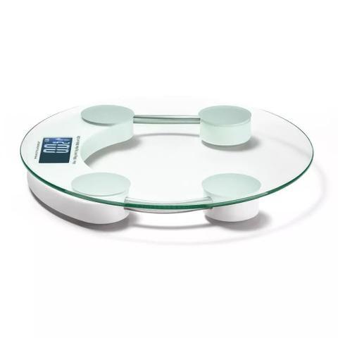 Imagem de Balança Digital Vidro Temperado 150kg Banheiro Academia