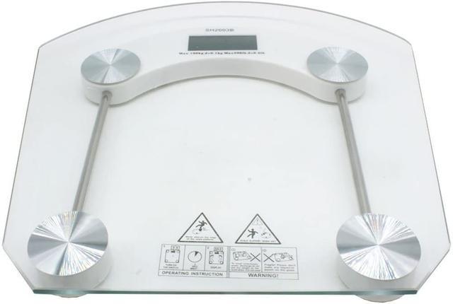 Imagem de Balança Digital Vidro Temperado 180kg Banheiro Academia QUADRADA