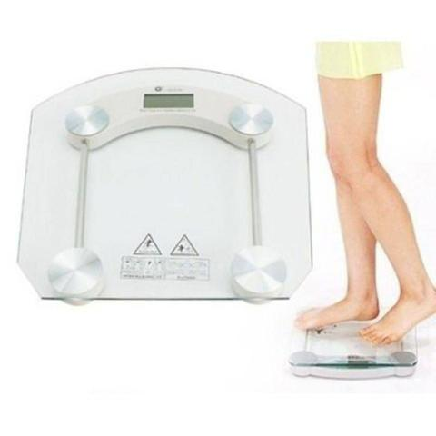 Imagem de Balança Digital Vidro Temperado Academias Banheiro Clínicas 180 kg