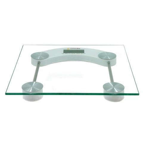 Imagem de Balança Digital Vidro Temperado Até 180kg Banheiro Academia Dieta