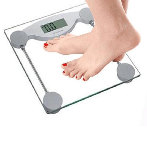 Imagem de Balança Digital Vidro Temperado Banheiro Academias 180kg