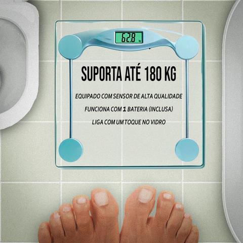 Imagem de Balança Eletrônica De Banheiro Academia Consultório 180kg