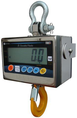 Imagem de Balança Eletrônica Suspensa 2000kg X 500g Industrial Garantia E Inmetro