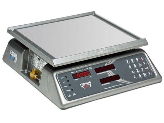 Imagem de Balança Industrial Digital Ramuza - 1019 CR 15 Até 15kg