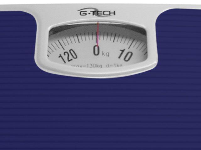 Imagem de Balança Mecânica até 130kg Antiderrapante G-Tech