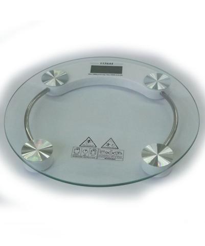 Imagem de Balança Para Banheiro Vidro Redonda Digital 180 Kg PROMOÇÃO