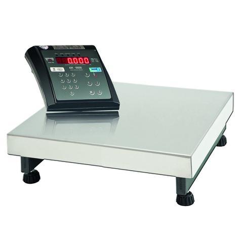 Imagem de Balança Plataforma Digital Comercial Industrial 300kg/100g + Bateria - Selo Inmetro - DPB 300 - Ramuza