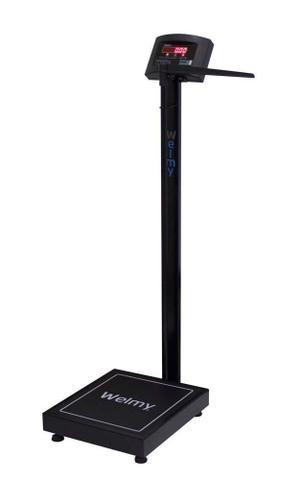 Imagem de Balança Profissional Eletrônica Academia  W200A  Cor Preta  - 200Kg/50g - Selo Inmetro - Welmy