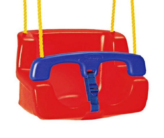 Imagem de Balanço Assento Infantil Criança Bebe vermelho Xalingo