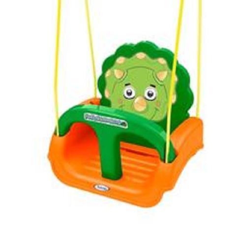 Imagem de Balanço Fofossauros Infantil para Bebê Criança Verde/Laranja Xalingo