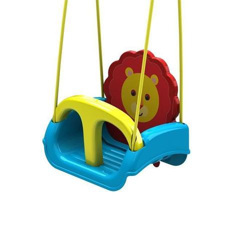 Imagem de Balanço Infantil Com Encosto Regulável Leãozinho 25010 Xalingo