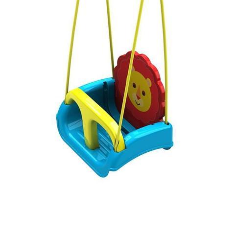 Imagem de Balanço Infantil com Encosto Regulável Leãozinho Fisher Price 2501.0 Xalingo