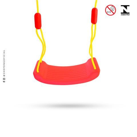 Imagem de Balanço infantil kids Play ajustável - 50kg Vermelho