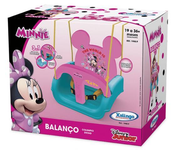 Imagem de Balanço Infantil Minnie Encosto Regulável Xalingo