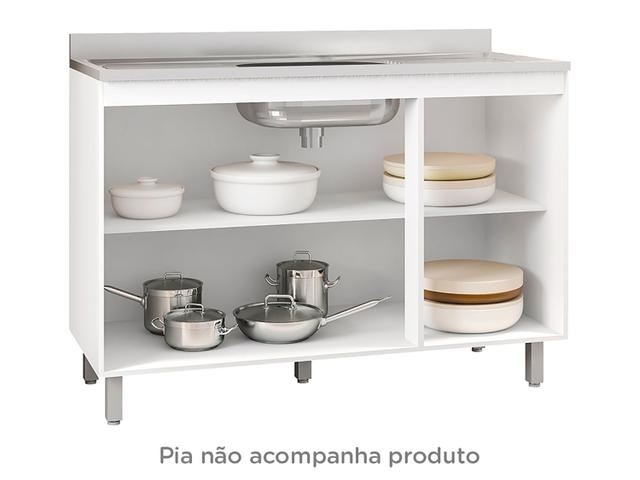 Imagem de Balcão Adapta Pia Poliman 3 Portas