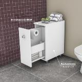 Imagem de Balcão para Banheiro 1 Porta - Branco