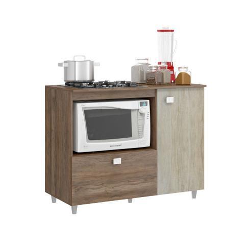 Imagem de Balcão para Cooktop 2 Portas Jaeli Móveis