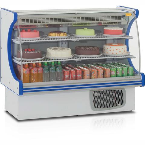 Imagem de Balcão Refrigerado Confeitaria Vitalis GEPV140 Gelopar