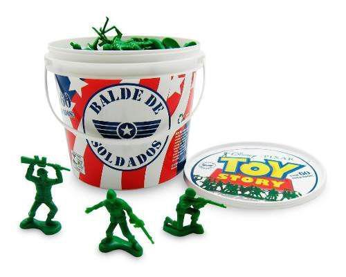 Imagem de Balde C/ 60 Soldados Toy Story Original - Toyng