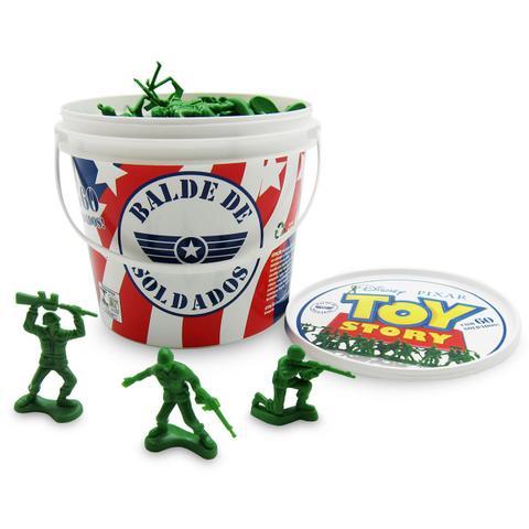 Imagem de Balde Com 60 Soldados Toy Story Original Disney Toyng