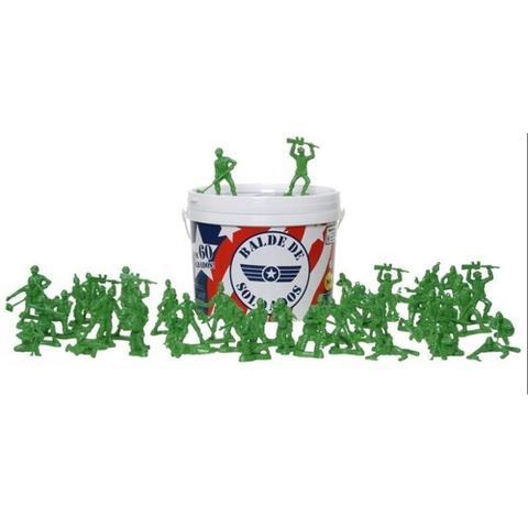 Imagem de Balde de Soldados - 60 peças - Disney - Toy Story - Toyng